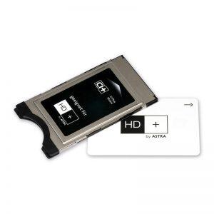 CI+ inclusief HD+ Smartcard