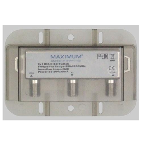 Maximum DiSEqC Switch 2/1