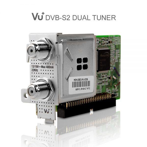 VU+ DVB-S2 Dual Tuner