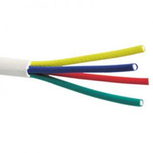 Quattro coax kabel Rol 100m