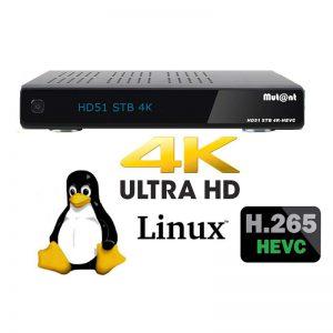 Mutant HD51 4K HEVC